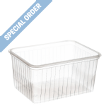 1 Litre Natural PS Container [D1000]